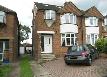 Thumbnail 4 bed semi-detached house for sale in Oulton Crescent, Potters Bar