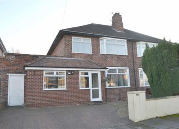 Thumbnail 3 bed semi-detached house for sale in Queensbury Avenue, Bromborough, Wirral