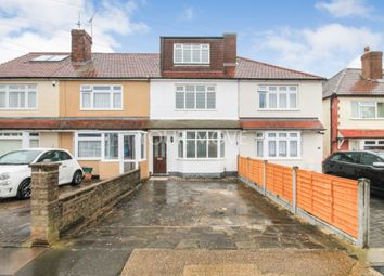 Thumbnail 4 bed terraced house to rent in Heaton Close, Romford