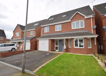 Thumbnail 5 bed detached house for sale in Mitchells Close, Etwall, Derby