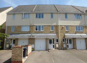 Thumbnail 4 bedroom town house for sale in Foster Road, Sugar Way, Peterborough