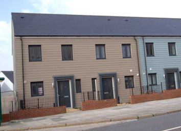 Thumbnail 2 bed end terrace house to rent in Park Avenue, Plymouth