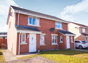 Thumbnail 2 bed semi-detached house for sale in Basil Grove, East Kilbride, Glasgow