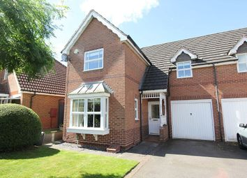 Thumbnail 3 bed semi-detached house for sale in Hornbeam Close, Oadby, Leicestershire