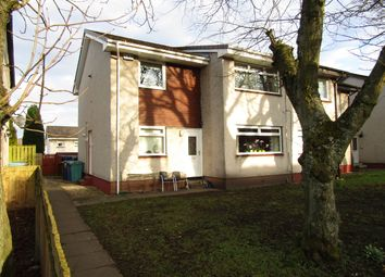 Thumbnail 2 bed flat for sale in Earlston Crescent, Coatbridge