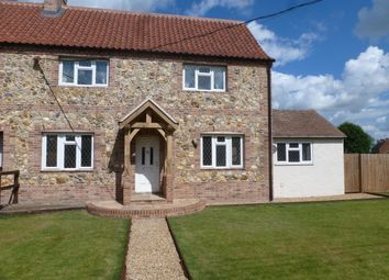 Thumbnail 3 bedroom semi-detached house to rent in Long Lane, Feltwell, Thetford