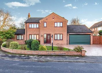 Thumbnail 4 bed detached house for sale in Church Garth, Great Smeaton, Northallerton, North Yorkshire
