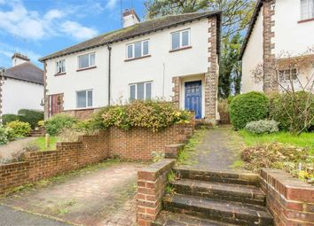 Thumbnail 2 bedroom semi-detached house for sale in Johnsdale, Oxted, Surrey