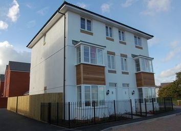 Thumbnail 4 bed town house to rent in Jack Sadlers Way, The Rydons, Exeter, Devon