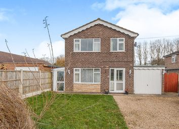 Thumbnail 3 bed detached house for sale in Old Main Road, Fosdyke, Boston