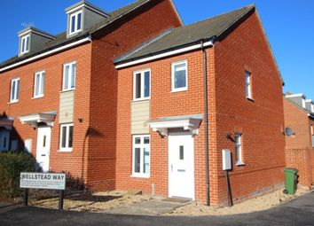 Thumbnail 2 bed property for sale in Wellstead Way, Hedge End, Southampton