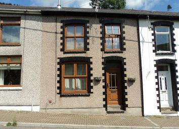Thumbnail 2 bed terraced house for sale in Sunnyside, Ogmore Vale, Bridgend.