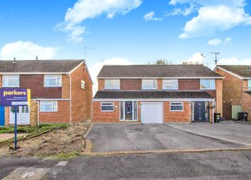 Thumbnail 4 bed semi-detached house for sale in Rangewood Avenue, Reading, Berkshire