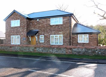 Thumbnail 4 bed detached house to rent in Braintree Road, Felsted