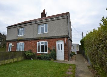 Thumbnail 3 bed semi-detached house for sale in Cromer Road, Sidestrand, Cromer, Norfolk.