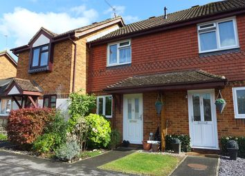 Thumbnail 2 bed terraced house to rent in Barn Meadow Close, Zebon Copse, Church Crookham