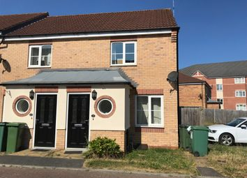 Thumbnail 2 bed end terrace house to rent in Garden Close, Thorpe Astley, Leicester