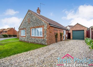 Thumbnail 3 bed detached bungalow for sale in All Saints Way, Mundesley, Norwich