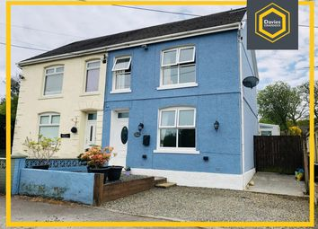 Thumbnail 3 bed semi-detached house for sale in Dynant Fach Road, Pontyberem, Llanelli