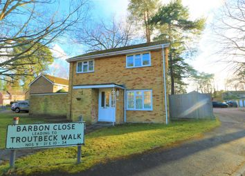 Thumbnail 3 bed detached house to rent in Barbon Close, Camberley
