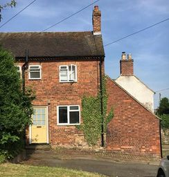 Thumbnail 1 bed terraced house to rent in 7 Burton Road, Ticknall, Derbyshire