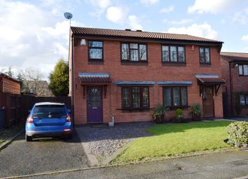 Thumbnail 3 bed semi-detached house for sale in Dunlin Close, Leegomery, Telford, Shropshire
