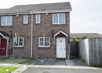 Thumbnail 2 bedroom end terrace house for sale in Siddons Way, West Bromwich