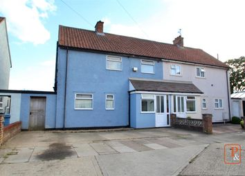 Thumbnail 3 bed semi-detached house for sale in Caithness Close, Ipswich