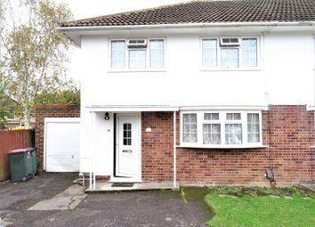 Thumbnail 3 bed semi-detached house to rent in Crabbet Road, Crawley