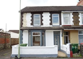 Thumbnail 1 bed end terrace house to rent in Lewis Street, Treforest, Pontypridd