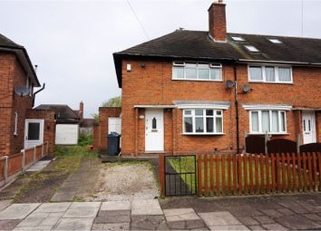 Thumbnail 2 bedroom semi-detached house for sale in Pear Tree Road, Birmingham