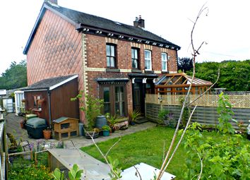 Thumbnail 4 bed semi-detached house for sale in Gorn Road, Llanidloes