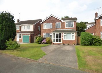 Thumbnail 5 bed detached house for sale in Farndon Close, Cuddington, Northwich, Cheshire