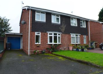Thumbnail 3 bed semi-detached house for sale in Francis Road, Lichfield, Staffordshire