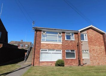 Thumbnail 1 bed flat to rent in Monkdale Avenue, Blyth