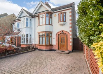 Thumbnail 4 bed semi-detached house for sale in Pettits Lane, Romford