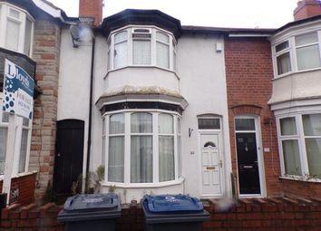 3 bed terraced house for sale in Lansdowne Road, Erdington, Birmingham, West Midlands B24