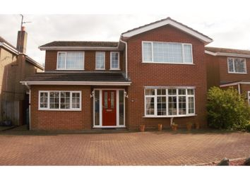 Thumbnail 4 bed detached house for sale in Hatt Close, Moulton Near Spalding