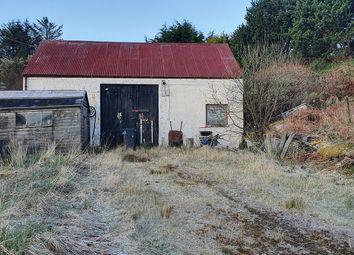 Thumbnail Land for sale in Garage/Workshop And Plot, Portnalong, Isle Of Skye