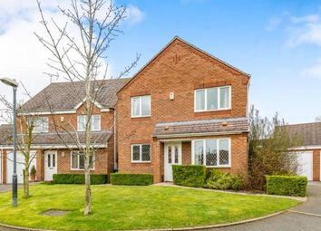 Thumbnail 4 bedroom detached house for sale in Foxfield Place, Long Lawford, Rugby
