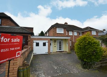 3 bed semi-detached house for sale in Binton Road, Shirley, Solihull B90