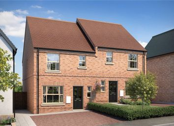 Thumbnail 3 bed semi-detached house for sale in Church Lane, Papworth Everard, Cambridge
