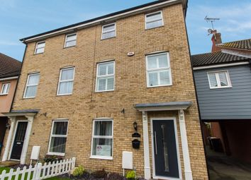 Thumbnail 4 bed town house for sale in Hogarth Way, Rochford