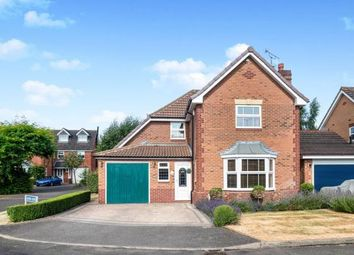 Thumbnail 4 bed detached house for sale in Glover Close, Warwick, Warwickshire, .