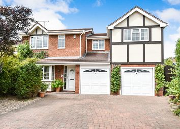 Thumbnail 5 bed detached house for sale in Raglan Close, Stretton, Burton-On-Trent