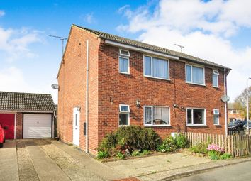 3 bed semi-detached house for sale in Legrice Crescent, North Walsham NR28