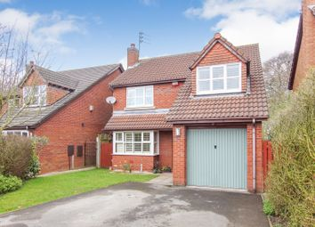 Thumbnail 4 bed detached house for sale in Farnham Close, Appleton, Warrington