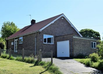 Thumbnail 2 bed bungalow for sale in School Lane, Snitterby, Gainsborough
