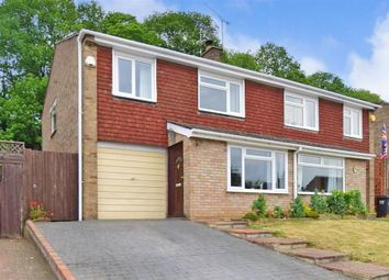 Thumbnail 3 bed semi-detached house for sale in Woodlands Road, Ditton, Aylesford, Kent