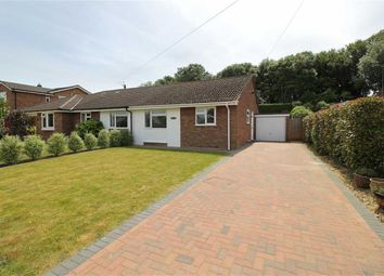 Thumbnail 2 bed semi-detached bungalow for sale in The Meadway, Highcliffe, Christchurch